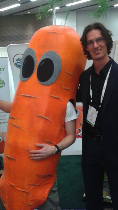 Nate with Carrot